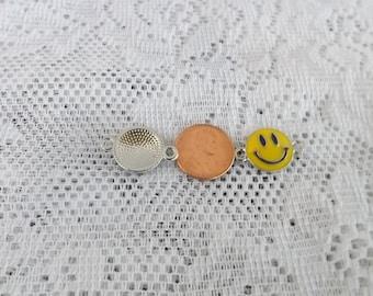 Smiley face Charm bracelet Smile charm