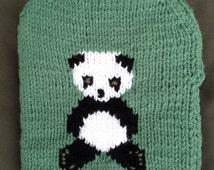 Panda Hot Water Bottle Cover.