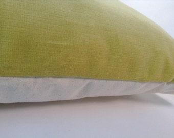 Sunshine velvet pillow cover
