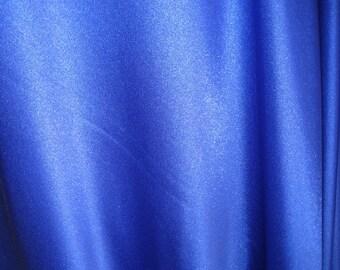Blue Nylon Spandex Fabric