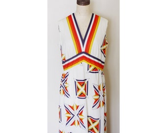 1960s Liberty Floor Length Dress