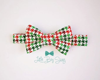 Baby Boy Bow Tie, Boys First Christmas Outfit, Baby Boy Bow Tie, Toddler Bow Tie, Boys Holiday Outfit, First Birthday Boy, Baby Boy Gift