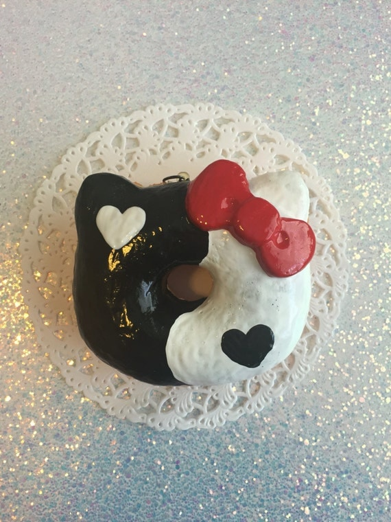 Ying and yang deco donut for Deco ying yang