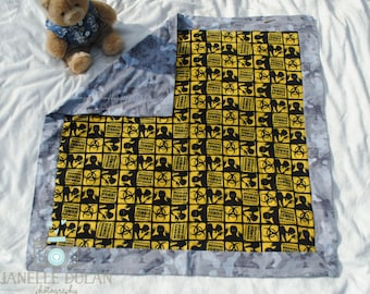 Zombie outbreak flannel baby blanket-Large