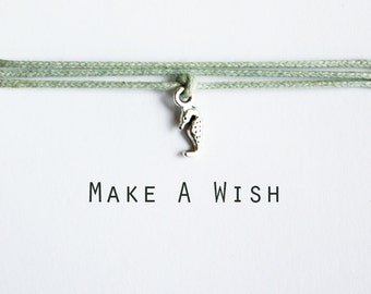 Make A Wish Seahorse Bracelet