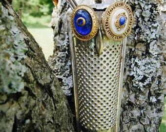 Handmade Repurposed Recycled Owl Perpetua Hootenanny