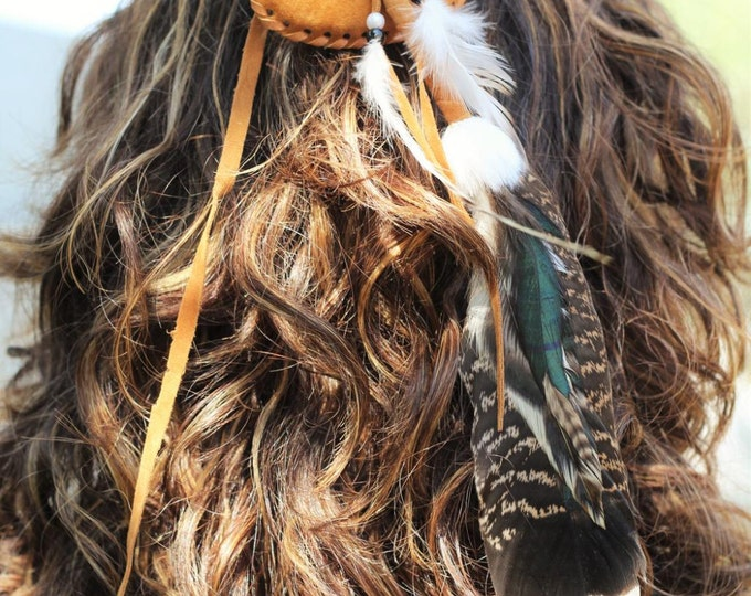 Hair Feather Accessory