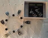 Noel Nativity charm bracelet and earring set