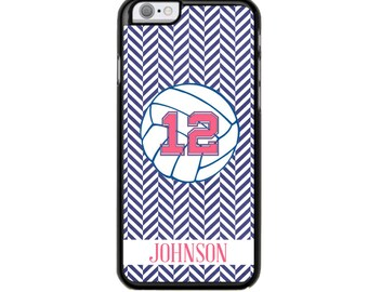 Mongrammed Phone Case, Tough Phone Case, Volleyball Phone Case, Personalized Phone Case, IPhone Case, Phone Case, IPhone Case, Volleyball