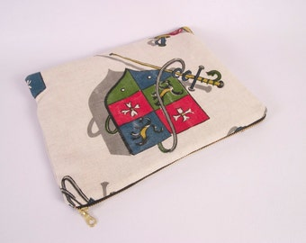 Coat of Arms Tablet Case and Travel Pouch