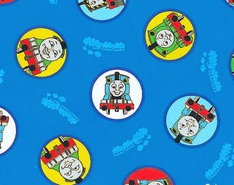 Thomas the Tank Engine Portraits Blue  Free Shipping