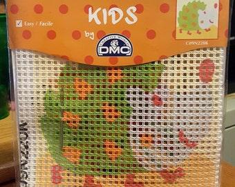 HEDGEHOG Kids - by DMC Big Hole Complete Canvas Tapestry Kit C09N220K