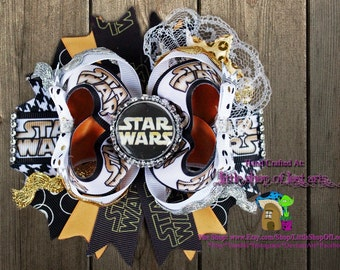 Star Wars deluxe over the top boutique bow