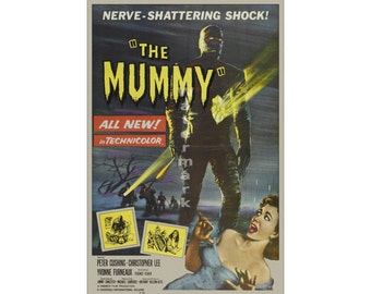 The Mummy (#2) - Digitally Restored & Retouched Movie Poster