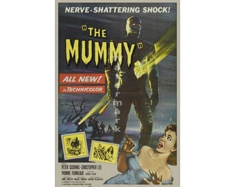 The Mummy (#2) - Digitally Restored & Retouched Movie Poster (264564918)