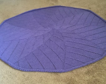 The radiating star corcle baby blanket