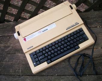 Vintage 1988 Brother 140 Correctronic Electric Typewriter