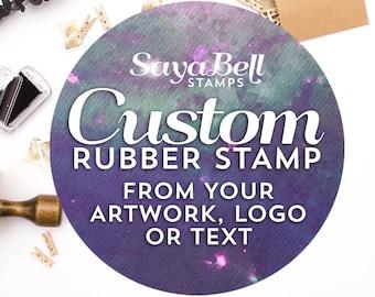 Custom Stamp for Business, Custom Logo Stamp, Business Card Stamp, Bag Stamp, Custom Business Stamp. Custom Rubber Stamp, Custom Stamp Logo