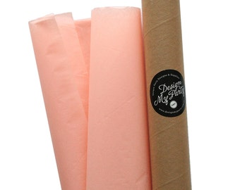 Peach Tissue Paper (40 Sheets) 500mmx760mm