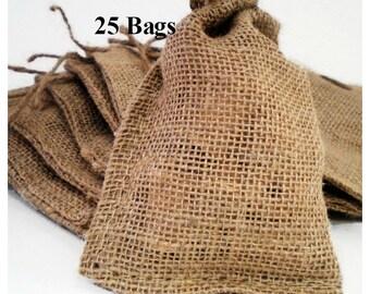 Burlap Bags 4x6 - 25 Ct.