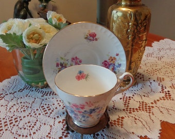 English Mix ans Match Teacup And Saucer / Tea Party Teacup/ English Teacup Saucer