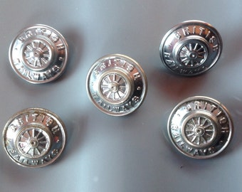 Buttons, British Railway Buttons
