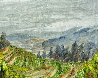 Vineyard- landscape print