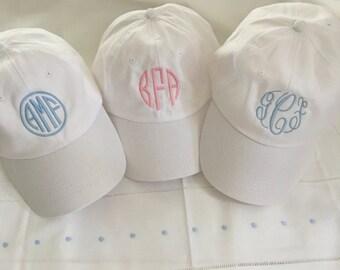 Baseball Cap, Monogrammed Baseball Cap, Monogrammed Hat