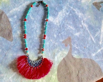 necklace cherry creek jasper turquoise
