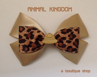 animal kingdom hair bow
