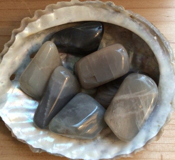 Black Moonstone Medium Healing Stone Healing Crystal