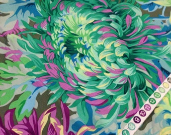 Kaffe Fassett Phillip Jacobs Fabric -  Shaggy  PWPJ 072 - CT 100% Quality Cotton OOP and Rare