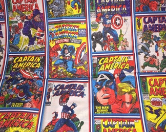 Captain America Falcon Rare Comic Covers 100 Percent High Quality Cotton Out of Print Collectible