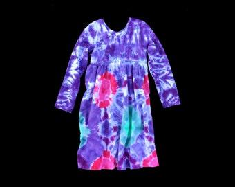 Girls Tie-Dye Dress- youth sz 12
