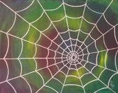 Art Print Spider Web Spin...