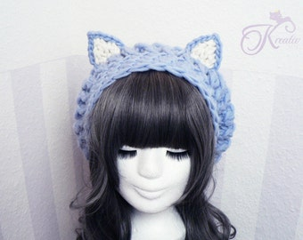Cat hat (skyblue)