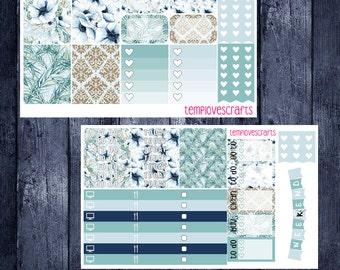 Ghost Flower Kit for Erin Condren Life Planner