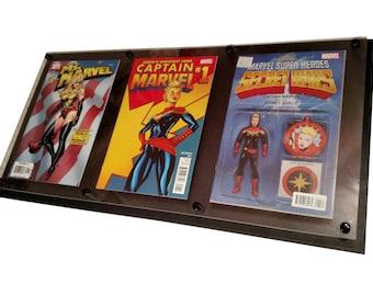 3 wide Comic Book Display