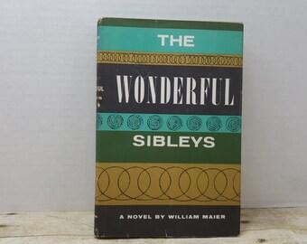 The Wonderful Sibleys, 1956, William Maier, vintage book