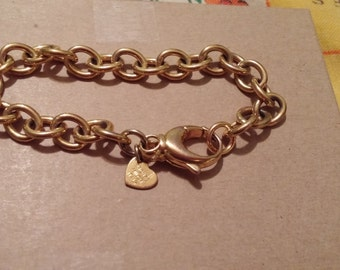 Bronze Milor Bracelet Goldtone.