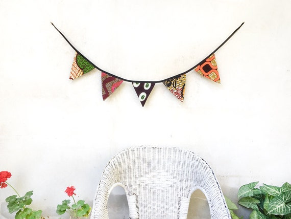 Bunting Flags African Home Decor Room Wall Decor Home