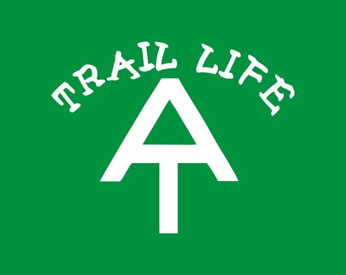 Appalachian Trail decal, Trail Life decal, trail life sticker, hiker decal, AT hiker decal, thru hiker decal, AT trail decal, trail life