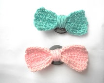 Bow Tie Magnets - Ready to Ship- Kitchen Magnets - Home Decor Magnets - Bow Magnet - Unique Magnets - One of a Kind Magnets