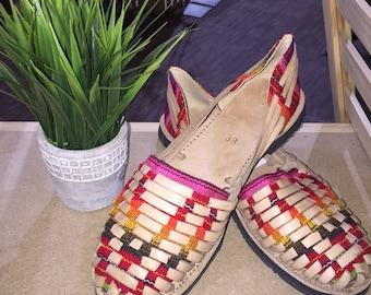 Sofia Sandals - Handcrafted Guatemala