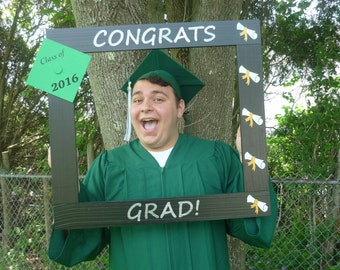Photo Booth Frame/Graduation Photo Booth Prop/Photo Booth Prop/Graduation Picture/Grad Frame/Grad Photo/Photobooth Frame Prop
