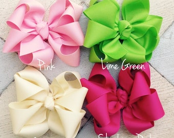 Starburst hair bow, Octopus hair bow, Boutique bow