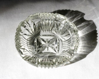 Vintage Crystal Ash Tray