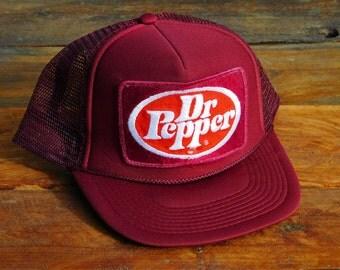 Vintage Dr Pepper Delivery Snapback Hat