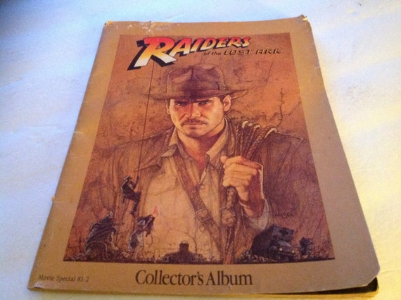 Rare 1981 Raiders Of The Lost Ark Movie Collectors Album