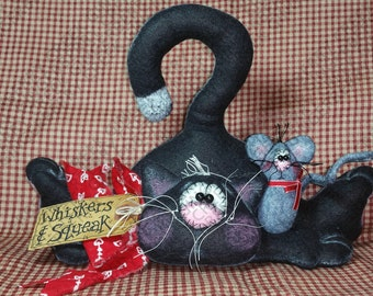 Whiskers and Squeak Pattern #171 - Primitive Doll/Ornie Pattern
